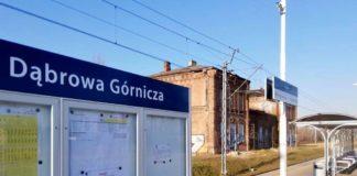 Dworzec PKP w Dąbrowie Górniczej – fot. UM Dąbrowa Górnicza
