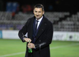 Trener Zagłębia Sosnowiec Dariusz Dudek - fot. Marek Rybicki