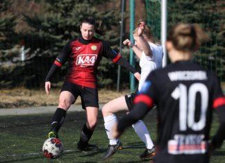 Tatsiana Markushevskaya nie jest już piłkarką Czarnych Sosnowiec – fot. Czarni Sosnowiec