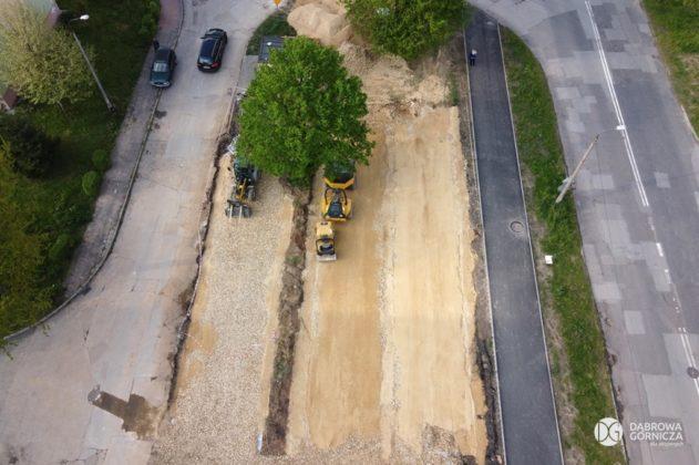 Budowa parkingu przy Kasprzaka w Dąbrowie Górniczej – fot. Studio DG