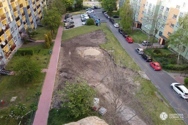 W Dąbrowie Górniczej powstaje Plac Aktywnej Ciszy – fot. Studio DG