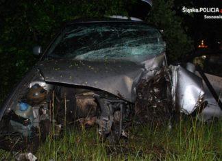 Groźny wypadek na ulicach Sosnowca – fot. Policja Sosnowiec