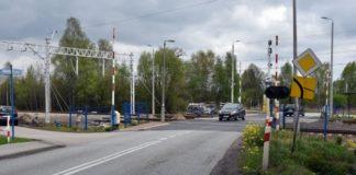 Zamknięcie przejazdu kolejowego - fot. Krzysztof Kozieł