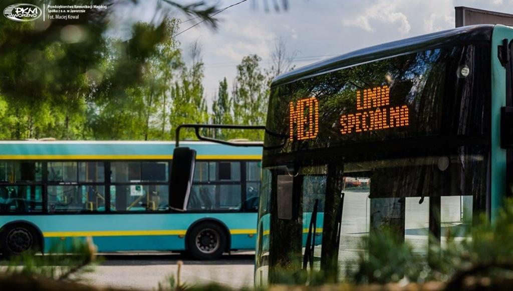 Linia autobusowa dla służb medycznych - fot. PKM Jaworzno