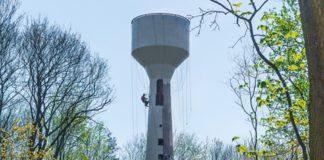 Wieża ciśnień remont - fot. UM Będzin