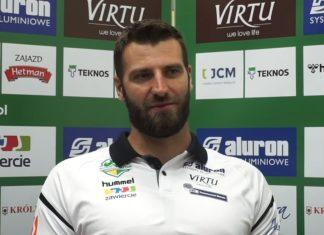Grzegorz Bociek przedłużył kontrakt z Aluronem Virtu CMC Zawiercie – fot. mat. pras.