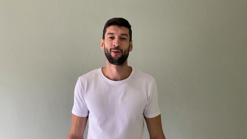 Flávio Gualberto siatkarzem Aluronu Virtu CMC Zawiercie – fot. mat. pras.