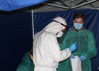 Testy na obecność koronawirusa w Czeladzi – fot. Jakub Kubasik