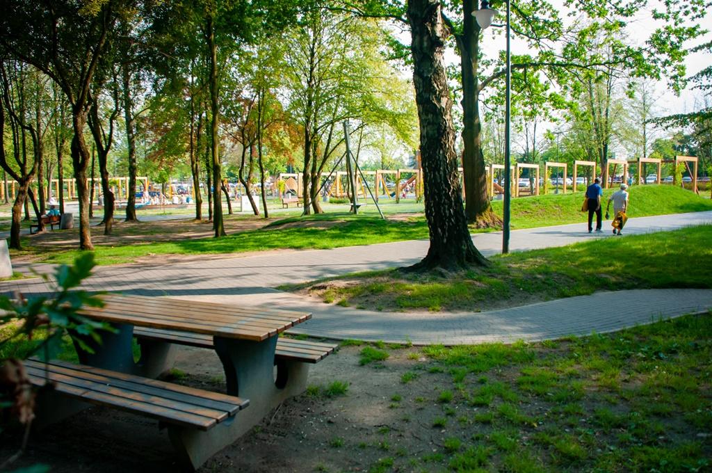 Park Jacka Kuronia w Kazimierzu Górniczym – fot. UM Sosnowiec