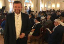 """Grzegorz Biernacki gwiazdą """"Ave Maria – online"""" w Czeladzi - fot. mat. pras."""