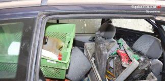 Wpadli z kradzionymi przedmiotami – fot. Policja Sosnowiec