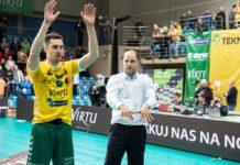 Mateusz Malinowski przedłużył kontrakt z Aluronem Virtu CMC Zawiercie – fot. Krzysztof Popiół