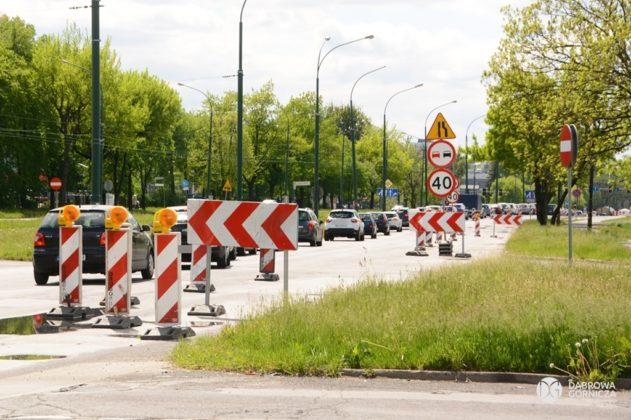 Remont ulicy Piłsudskiego w Dąbrowie Górniczej – fot. Studio DG
