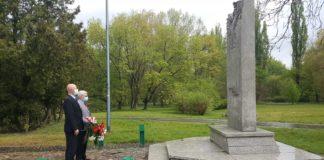 Święto Pracy w Sosnowcu w cieniu epidemii koronawirusa – fot. SLD Sosnowiec