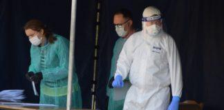Pracownicy objęci badaniami na obecność koronawirusa - fot. Miasto i Gmina Siewierz