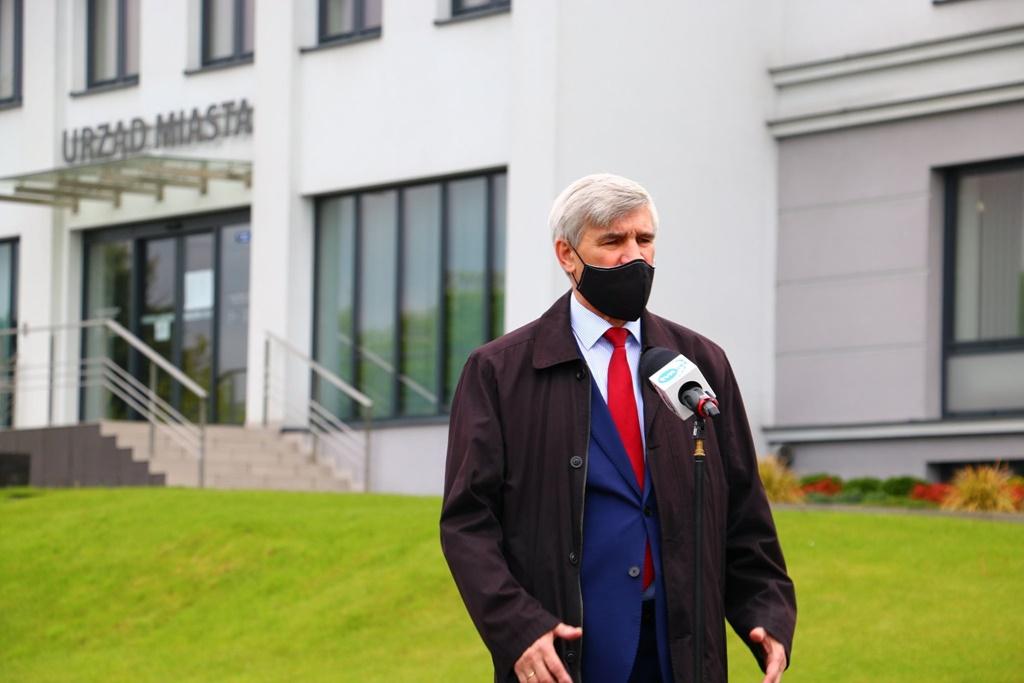 Burmistrz Czeladzi Zbigniew Szaleniec – fot. UM Czeladź