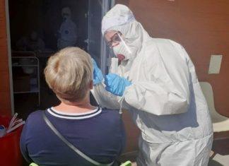 Testy na koronawirusa - fot. UM Zawiercie