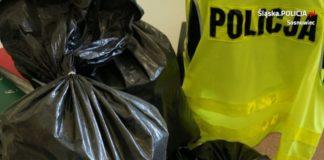 """Przewoził 74 kg """"lewego"""" tytoniu – fot. Policja Sosnowiec"""