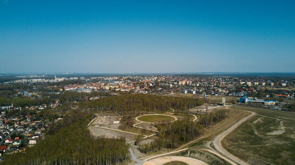 W Jaworznie powstaje nowy park w stylu angielskim – fot. UM Jaworzno