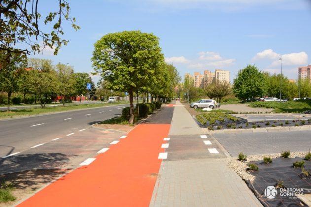 Ścieżki rowerowe w Dąbrowie Górniczej – fot. Studio DG