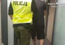 Z biwaku do więziennej celi - fot. KMP w Dąbrowie Górniczej