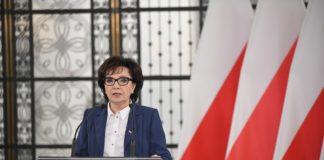 Marszałek Sejmu Elżbieta Witek - fot. Łukasz Błasikiewicz/Kancelaria Sejmu