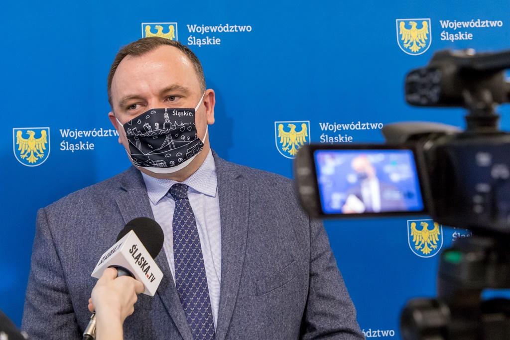 Marszałek woj. śląskiego Jakub Chełstowski – fot. Tomasz Żak/UMWS