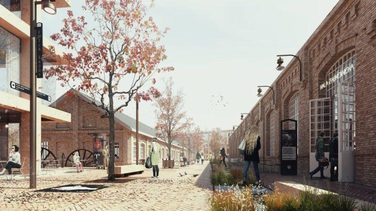 Tak będzie wyglądać nowe centrum Dąbrowy Górniczej - fot. Fabryka Pełna Życia