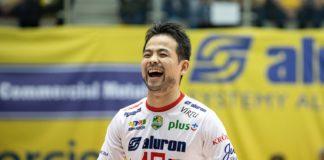 Japoński libero Taichiro Koga – fot. Krzysztof Popiół