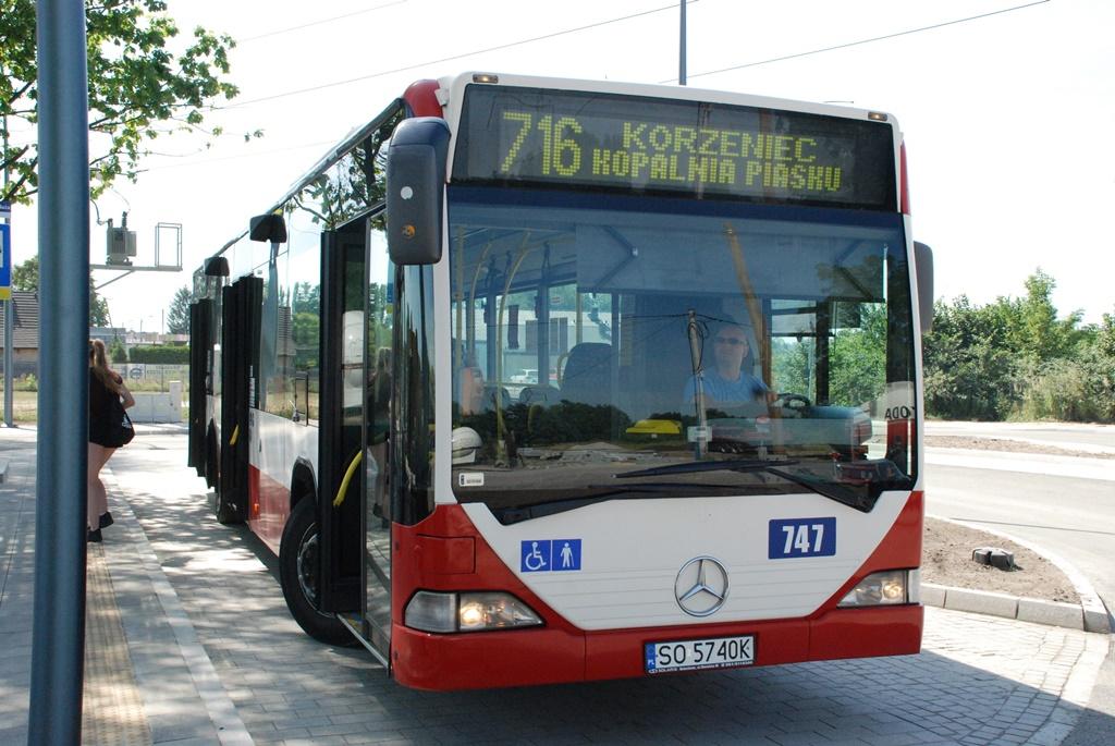 Autobus linii 716 – fot. UM Dąbrowa Górnicza