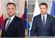 Andrzej Duda i Rafał Trzaskowski spotkają się w II turze - fot. mat. pras.