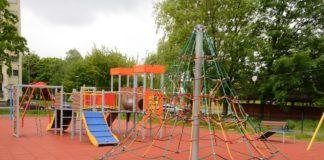 Plac zabaw w Dąbrowie Górniczej – fot. UM Dąbrowa Górnicza