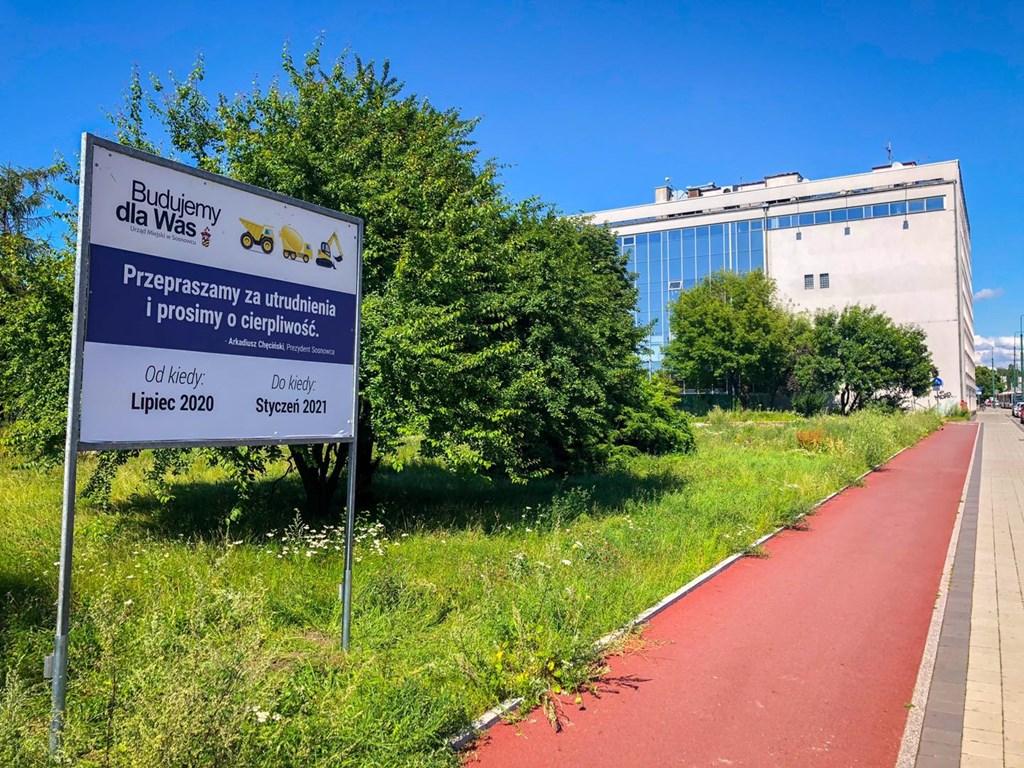 Na początku sierpnia rusza przebudowa placu przed dworcem – fot. UM Sosnowiec