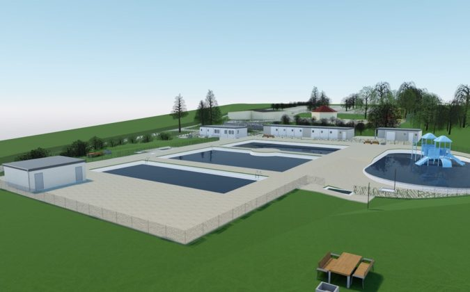 Tak będzie wyglądać nowy basen w Czeladzi – fot. UM Czeladź