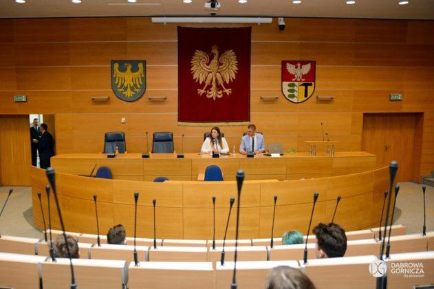 Młodzieżowa Rada Miasta w Dąbrowie Górniczej - fot. Studio DG