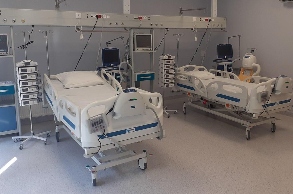 Więcej łóżek na intensywnej terapii – fot. Szpital Czeladź