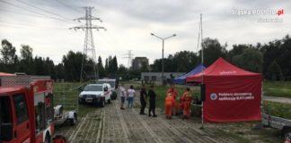 Tragiczny finał poszukiwań - fot. KMP w Sosnowcu