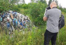 Niebezpieczne składowisko odpadów - fot. Maksym Pięta