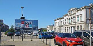 Przebudowa placu przed dworcem w Sosnowcu – fot. UM Sosnowiec