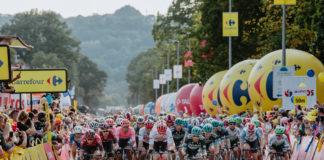 Kolarze podczas Tour de Pologne - fot. Szymon Gruchalski