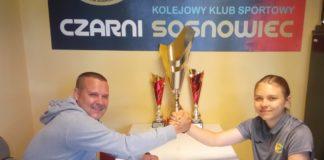 19-letnia Lidia Grzonka piłkarką Czarnych Sosnowiec – fot. Czarni Sosnowiec