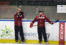Trener hokejowego Zagłębia Sosnowiec Grzegorz Klich – fot. Sławomir Bomba
