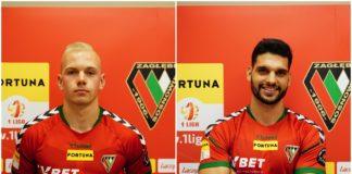 Olaf Nowak i João Ribeiro Oliveira piłkarzami Zagłębia Sosnowiec – fot. zaglebie.eu