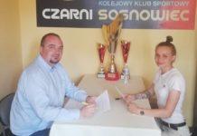 Klaudia Olejniczak piłkarką Czarnych Sosnowiec – fot. Czarni Sosnowiec