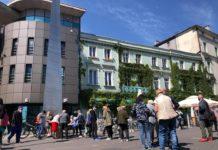 Plac Stulecia w Sosnowcu - fot. Facebook/Arkadiusz Chęciński