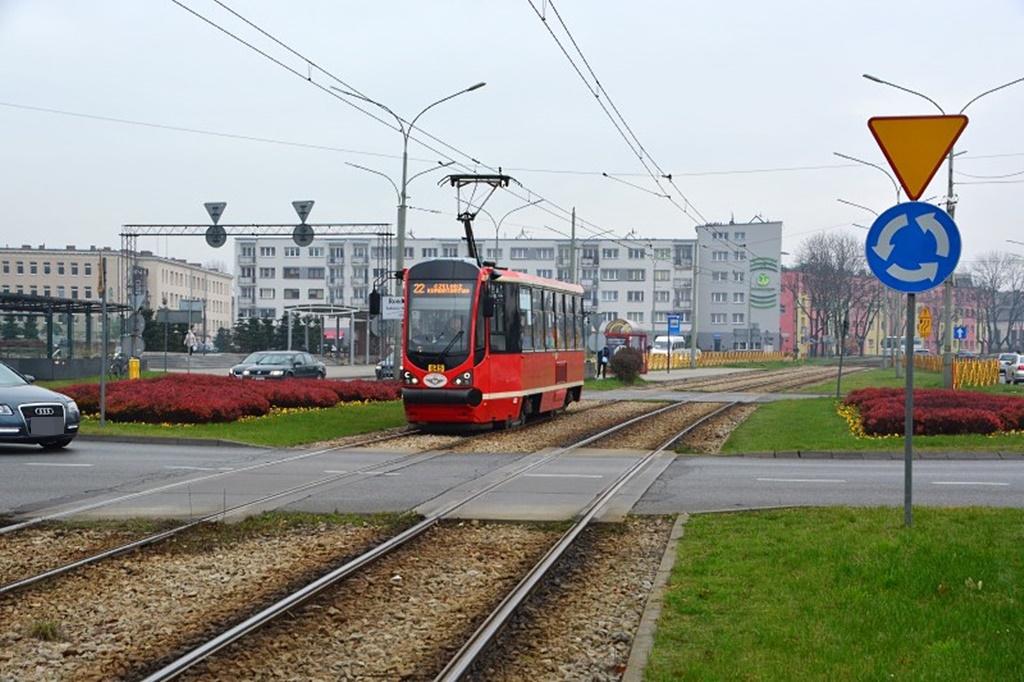 Tramwaj linii nr 22 - fot. UM Dąbrowa Górnicza