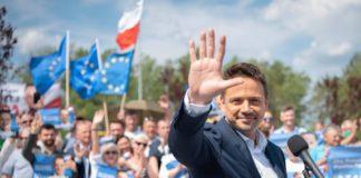 Kandydat Koalicji Obywatelskiej na prezydenta RP Rafał Trzaskowski - fot. Facebook/Rafał Trzaskowski