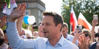 Rafał Trzaskowski w Częstochowie – fot. Rafał Trzaskowski/Facebook