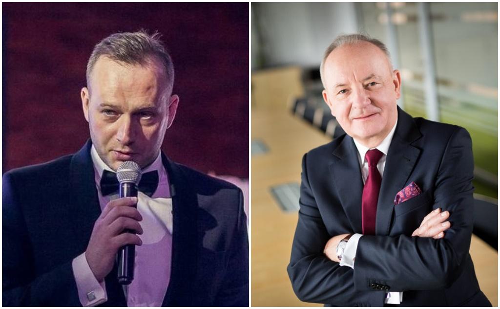Piotr Gil i Andrzej Malinowski – fot. Dąbrowskie Wodociągi