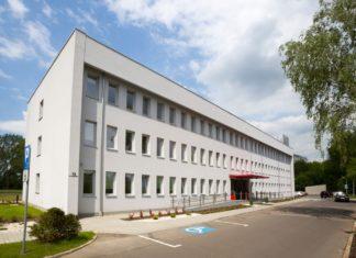 Budynek Dąbrowskich Wodociągów – fot. Dąbrowskie Wodociągi